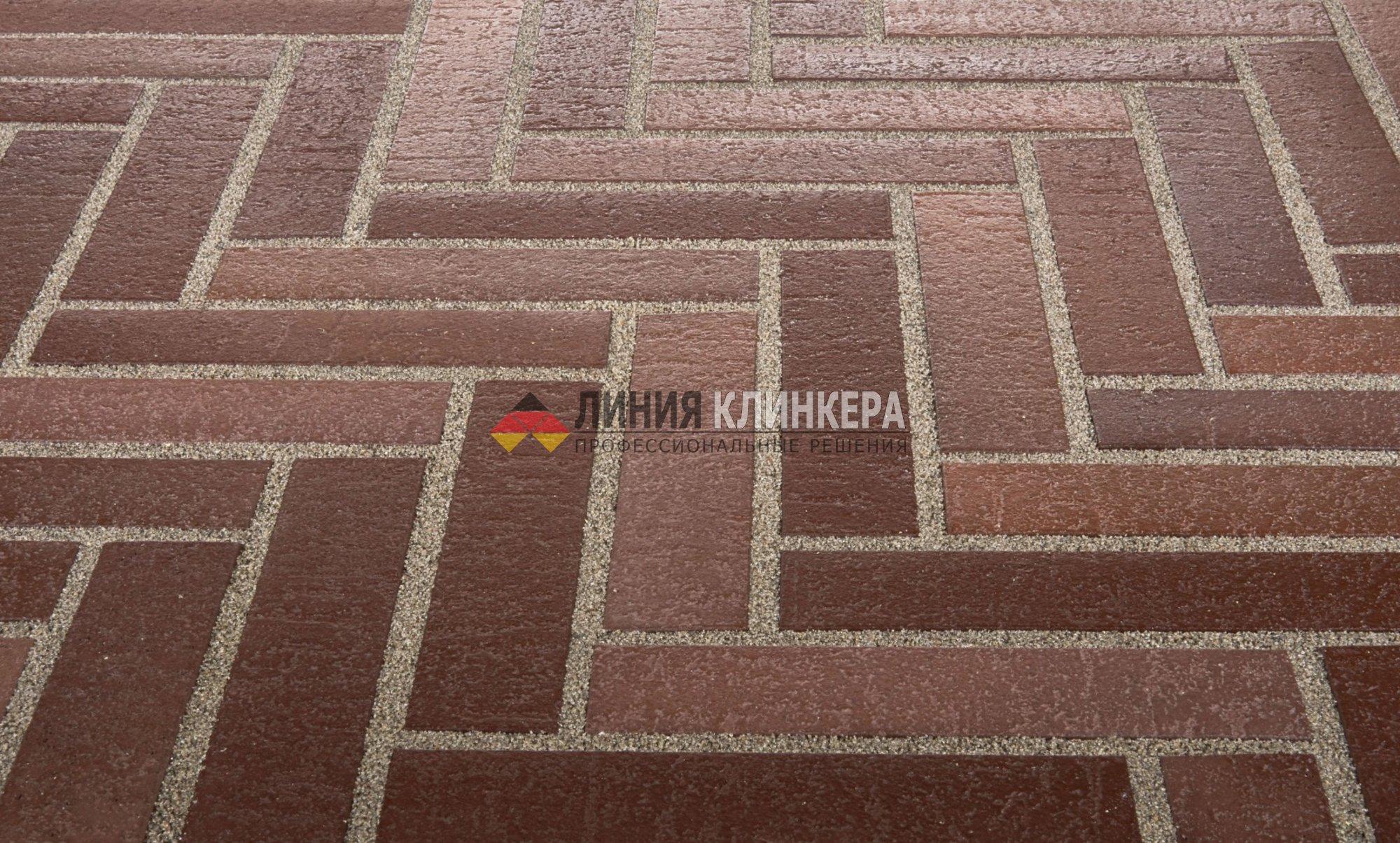 Тротуарная плитка ригель формат stroeher spaltklinker 3117